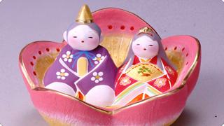 博多人形 花雛 四郎作